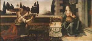 Annunciazione di Leonardo da Vinci - Museo degli Uffizi