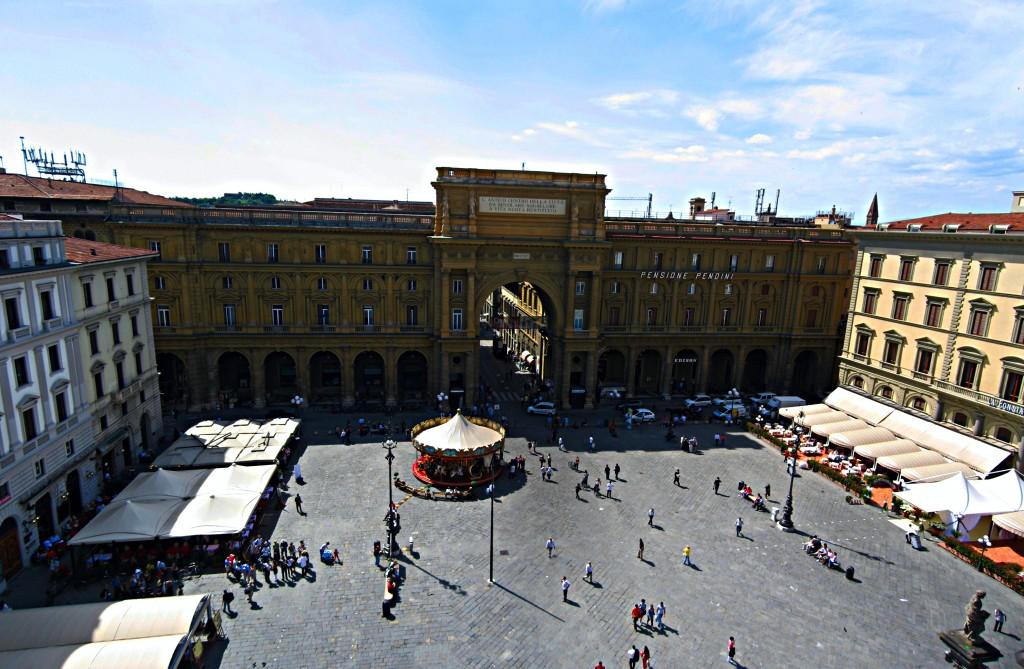 Piazza della Repubblica Tour di Firenze