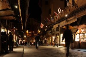 Negozi gioiellieri Ponte Vecchio