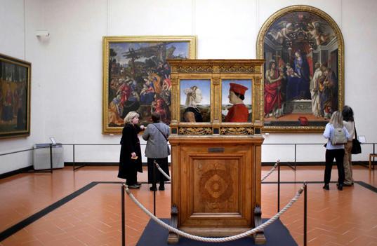 Tour della Galleria degli Uffizi Firenze