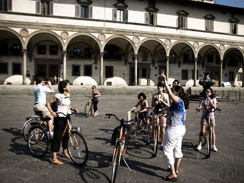 visitare firenze in bicicletta