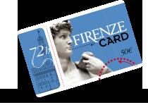 firenze card per visitare i musei fiorentini