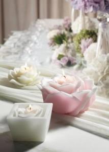 candele per bomboniere per matrimoni
