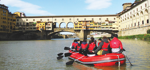 firenze rafting tour