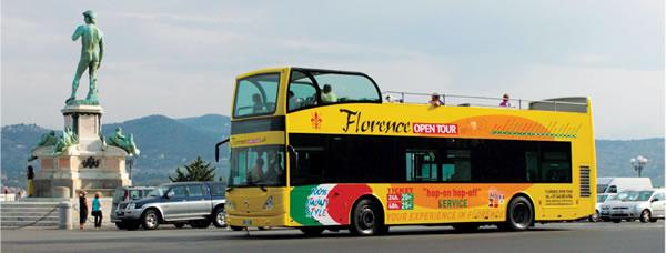 visitare firenze su bus scoperto