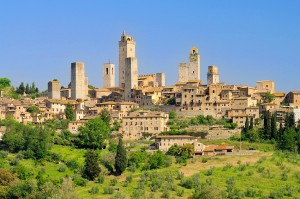 San Gimignano dintorni di Siena